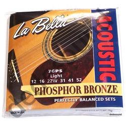 La Bella - Struny 7GPS 12-52 Acoustic Guitar