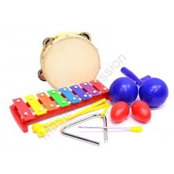 Master Percussion - FCBR-5a Zestaw perkusjonaliów
