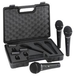 Behringer ULTRAVOICE XM1800S - zestaw 3 mikrofonów