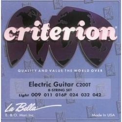 La Bella - Struny Criterion C200T 9-42