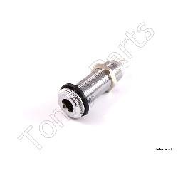 Tonny Parts - Cylindryczne gniazdo gitarowe Chrom EJ-5